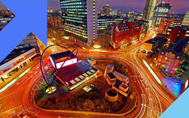 SiliconRoundabout, the home of Britain's disruptors - Bloomberg via Getty Images