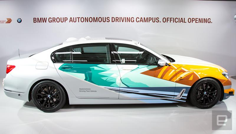 BMW's new research center is dedicated to autonomous driving