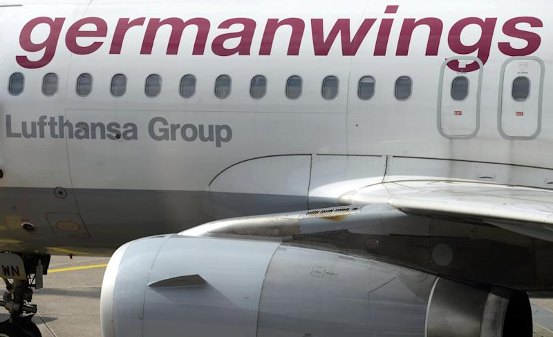 More than 100 flights are cancelled at some of Germany's main airports as pilots of Germanwings walk out