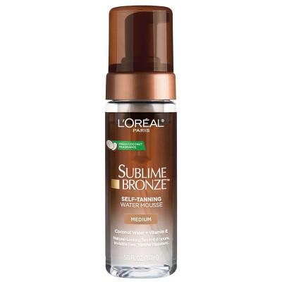 """<h3>L'Oreal Paris Sublime Bronze Hydrating Self-Tanning Water Mousse<br></h3><br><strong>The Drugstore G.O.A.T. Self Tanner</strong><br><br>We can't promise you'll magically transform into spokesperson Eva Longoria, but L'Oréal's Sublime Bronze Self-Tanning Water Mousse <em>does</em> make you look pretty dang glowy and gorgeous post-application. (Reviewers also love that it smells like a beach vacay in a bottle.)<br><br><strong>The Hype:</strong> 4.2 out of 5 stars and 972 reviews on <a href=""""https://www.target.com/p/l-or-233-al-paris-sublime-bronze-hydrating-self-tanning-water-mousse-5-fl-oz/-/A-75563805"""" rel=""""nofollow noopener"""" target=""""_blank"""" data-ylk=""""slk:Target"""" class=""""link rapid-noclick-resp"""">Target</a><br><br><strong>Reviewers Say: </strong>""""Goes on so smooth and evenly since it is the water-based mousse. No streaks and not """"Oompa Loompa orange."""" Leaves skin smelling coconut-y for quite a while and feeling a little sticky but definitely better than the thickness of a self tanning lotion. I applied two coats in the morning after showering/exfoliating and saw results in 5-6 hours. I'm hoping the tan lasts."""" — Alyssa, Target Reviewer<br><br><strong>L'Oreal Paris</strong> Sublime Bronze Hydrating Self-Tanning Water Mousse, $, available at <a href=""""https://go.skimresources.com/?id=30283X879131&url=https%3A%2F%2Fwww.target.com%2Fp%2Fl-or-233-al-paris-sublime-bronze-hydrating-self-tanning-water-mousse-5-fl-oz%2F-%2FA-75563805"""" rel=""""nofollow noopener"""" target=""""_blank"""" data-ylk=""""slk:Target.com"""" class=""""link rapid-noclick-resp"""">Target.com</a>"""