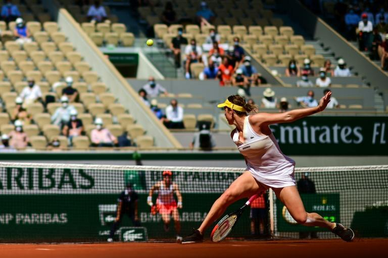 Russia's Anastasia Pavlyuchenkova has reached the final for the first time at the 52nd attempt, 10 years after making a first Slam quarter-final in Paris