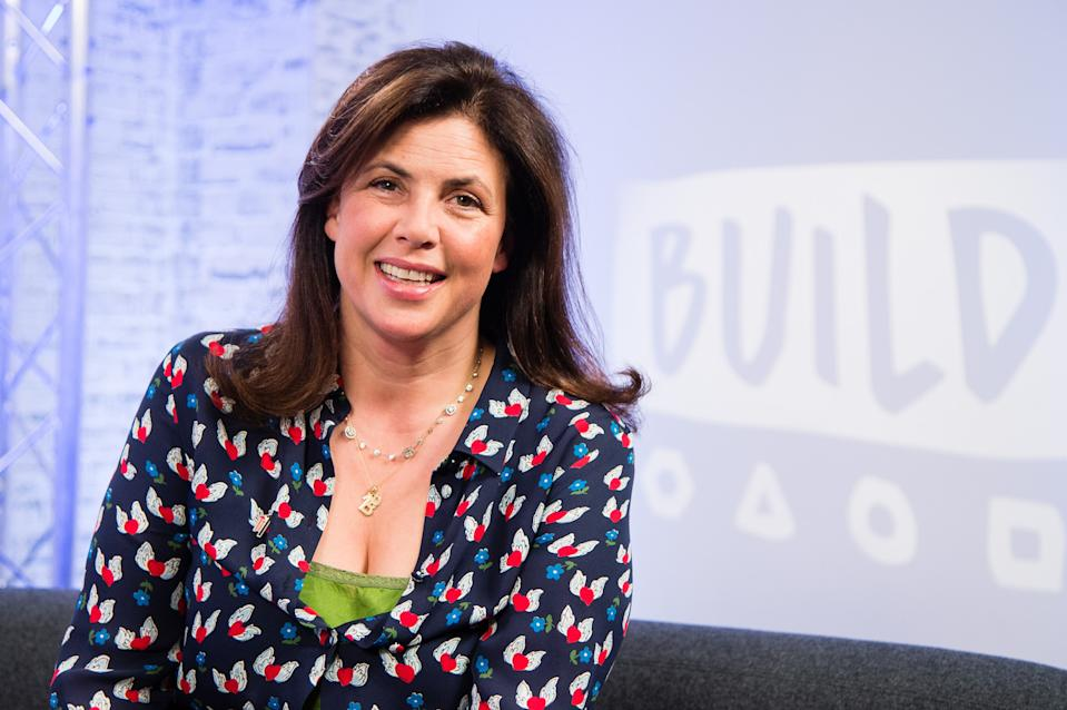 Kirstie Allsopp has sparked controversy after saying women shouldn't wear tights in June [Photo: Getty]