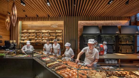 A new Starbucks Princi cafe at its Roastery