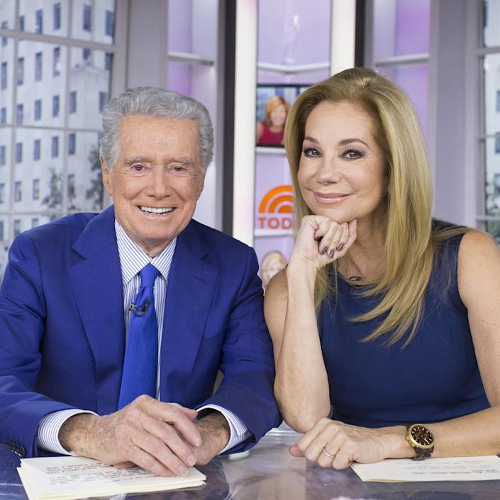 Kathie Lee Gifford Posts Shout Out To Friend and Former Co-Host Regis Philbin (NBC)