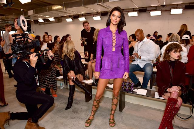 Kendall has decided to stay off the catwalks this NYFW. [Photo: Getty]