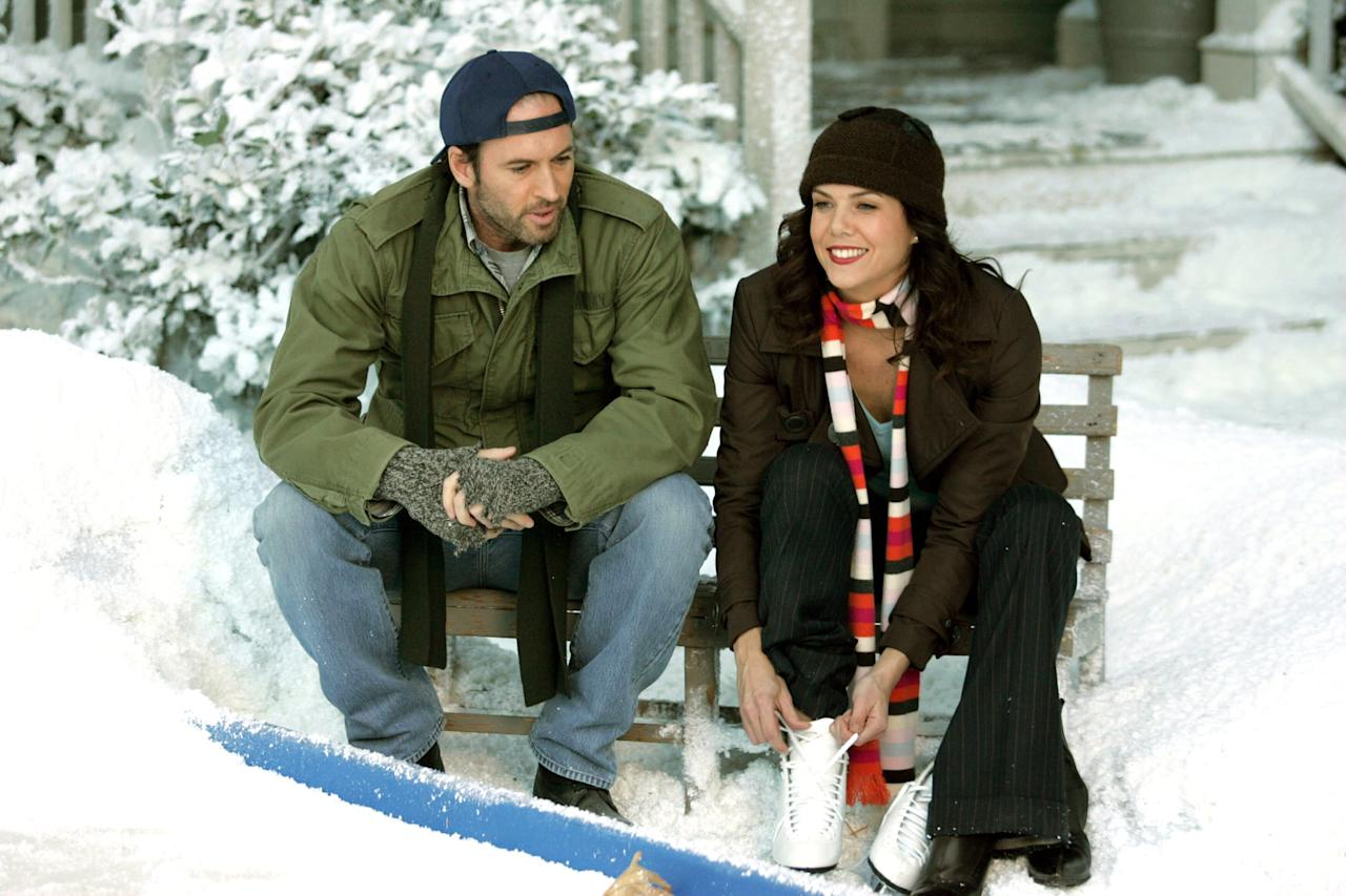 """<p>Lorelai Gilmore is known for saying that everything's magical when it snows. While <strong>Gilmore Girls </strong>usually exudes wonder and wholesomeness, this episode is full of drama, most notably between Emily and Richard as well as Rory and Christopher. In the end, however, Lorelai receives a lovely Winter gift from Luke that will warm even the Grinchiest of hearts.</p> <p><a href=""""http://www.netflix.com/watch/80014245"""" target=""""_blank"""" class=""""ga-track"""" data-ga-category=""""Related"""" data-ga-label=""""http://www.netflix.com/watch/80014245"""" data-ga-action=""""In-Line Links"""">Watch <strong>Gilmore Girls</strong> on Netflix</a>.</p>"""