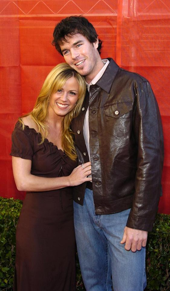 "Who says reality TV romances never last? Former ""Bachelorette"" Trista Sutter and hubby Ryan Sutter welcomed son Maxwell on Thursday. Kevin Mazur/<a href=""http://www.wireimage.com"" target=""new"">WireImage.com</a> - November 16, 2003"