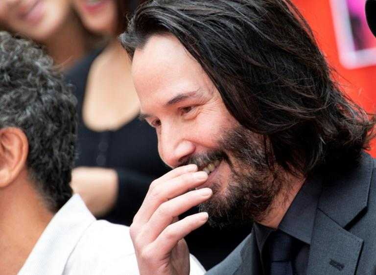Keanu Reeves brings sunny 'Bill & Ted' sequel to 'darker' world