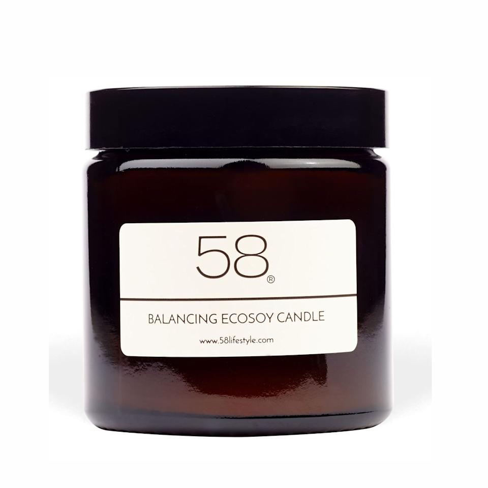 A gorgeous scented candle makes a room, in our opinion.