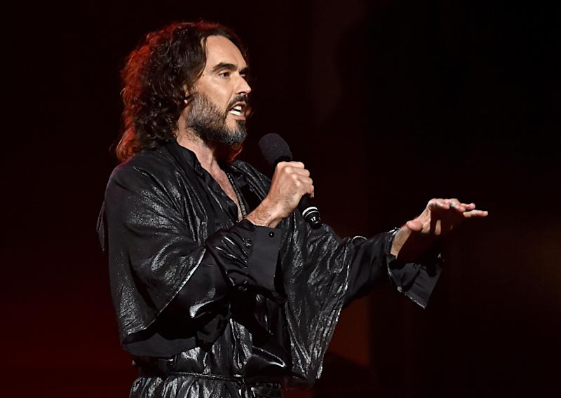 Russell Brand has also recently canned a gig in Australia. (Photo by Lester Cohen/Getty Images for The Recording Academy ) (Photo: Lester Cohen via Getty Images)