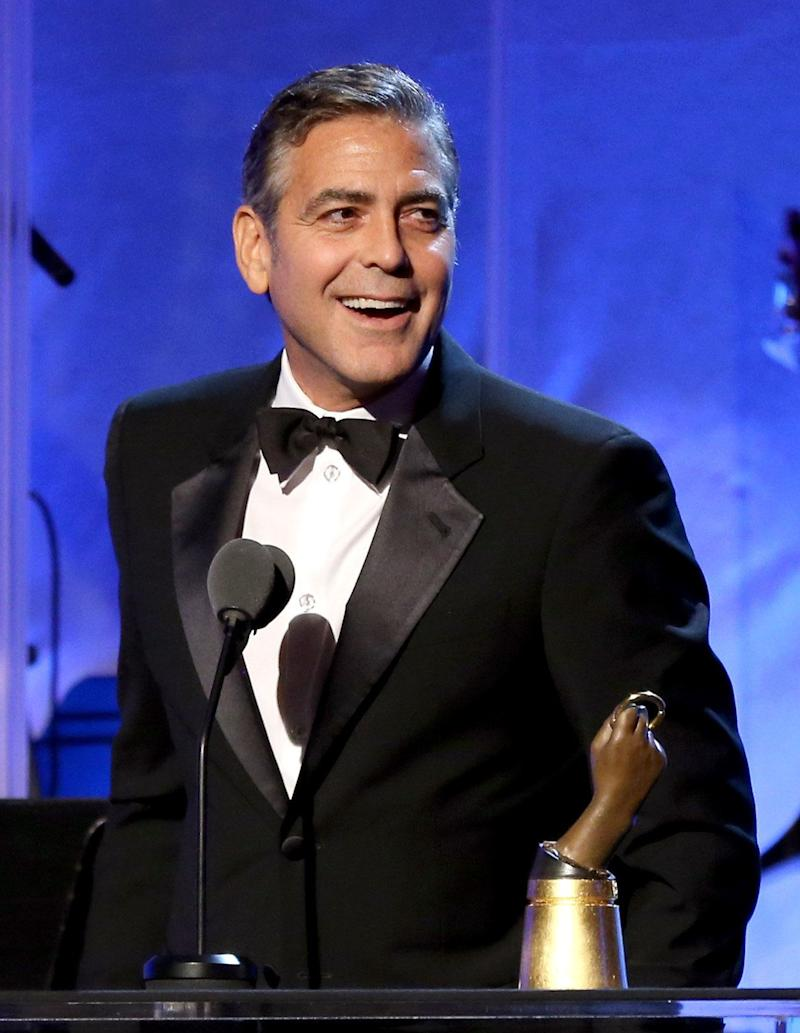 """Although Clooney lost his virginity at the age of 16 (""""young, very young, too young""""), he told Rolling Stone <a href=""""http://www.rollingstone.com/movies/pictures/confessions-of-a-dirty-mind-george-clooney-talks-sex-politics-and-fame-20111109/0190256#ixzz2EmC4l4Sw"""">he had his first orgasm when he was much younger.</a> """"I believe it was while climbing a rope when I was six or seven years old,"""" he explained. """"I mean, nothing came out, but all the other elements were there. I remember getting to the top of the rope, hanging off the rope, and going, """"Oh, my God, this feels great!"""""""