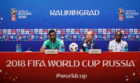 World Cup - Nigeria Press Conference