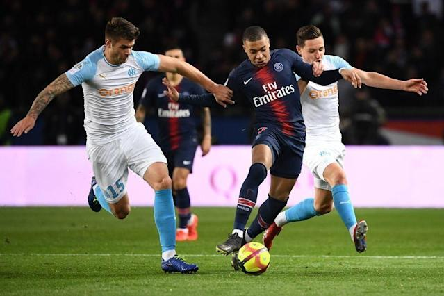 Marseille had no answers for Mbappé. (Getty)