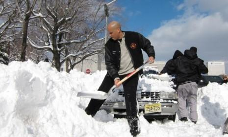 When his constituents tweeted for help digging out of a 2010 blizzard, Newark Mayor Cory Booker took to the streets with a shovel.