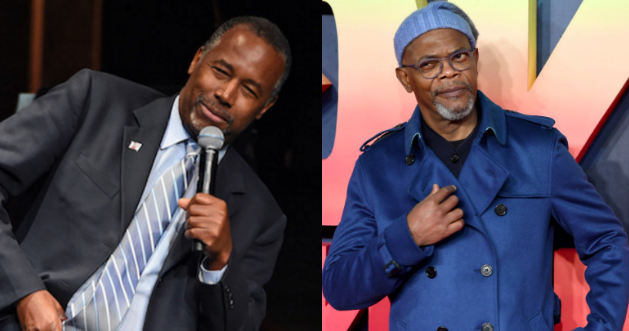 Samuel L. Jackson Rips Ben Carson Over 'Slaves Are Immigrants' Comments