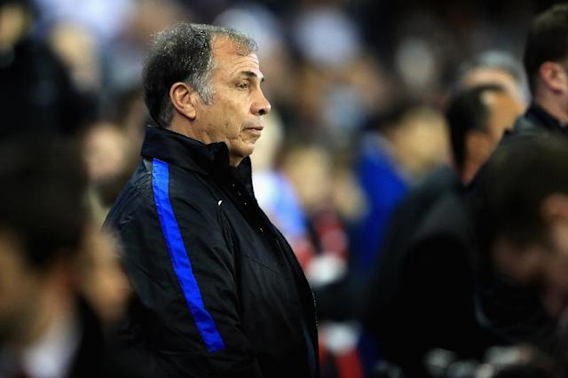 """""""I think we're going to be positioned to be a big player by 2026,"""" said US head coach Bruce Arena (AFP Photo/Sean M. Haffey)"""