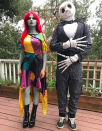 """<p>""""When your daughter asks for Sally and Jack, you give her Sally and Jack,"""" wrote the actress, posing next to hubby Channing Tatum, of their <em>Nightmare Before Christmas</em> costumes. """"Happy Halloween everyone."""" (Photo: <a rel=""""nofollow noopener"""" href=""""https://www.instagram.com/p/Ba8Uwz_Hqpc/?hl=en&taken-by=jennadewan"""" target=""""_blank"""" data-ylk=""""slk:Jenna Dewan via Instagram"""" class=""""link rapid-noclick-resp"""">Jenna Dewan via Instagram</a>) </p>"""