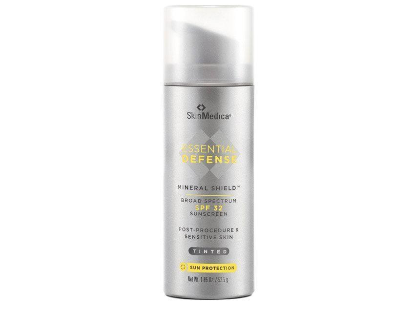 """<p><strong>SkinMedica</strong></p><p>amazon.com</p><p><strong>$38.00</strong></p><p><a href=""""https://www.amazon.com/dp/B072M2XL6X?tag=syn-yahoo-20&ascsubtag=%5Bartid%7C2164.g.32381661%5Bsrc%7Cyahoo-us"""" rel=""""nofollow noopener"""" target=""""_blank"""" data-ylk=""""slk:Shop Now"""" class=""""link rapid-noclick-resp"""">Shop Now</a></p><p>Dr. Dendy Engelman, a New York City-based dermatologist, likes this sunscreen developed for mature and sensitive skin. It's slightly tinted, so it can double as foundation.</p>"""