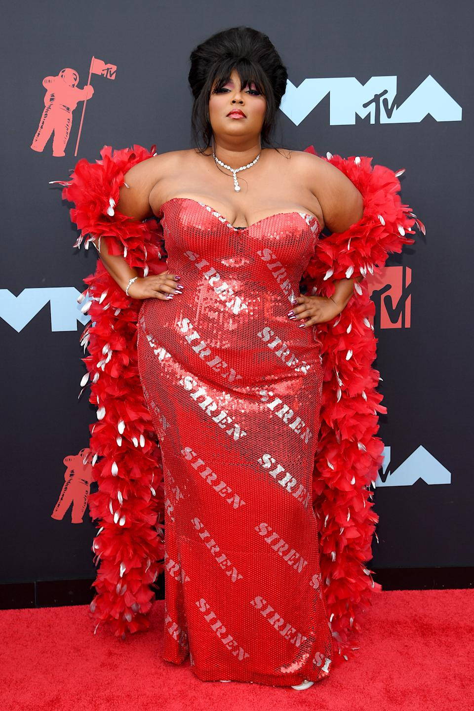 """<h1 class=""""title"""">Lizzo in Moschino</h1><cite class=""""credit"""">Photo: Getty Images</cite>"""
