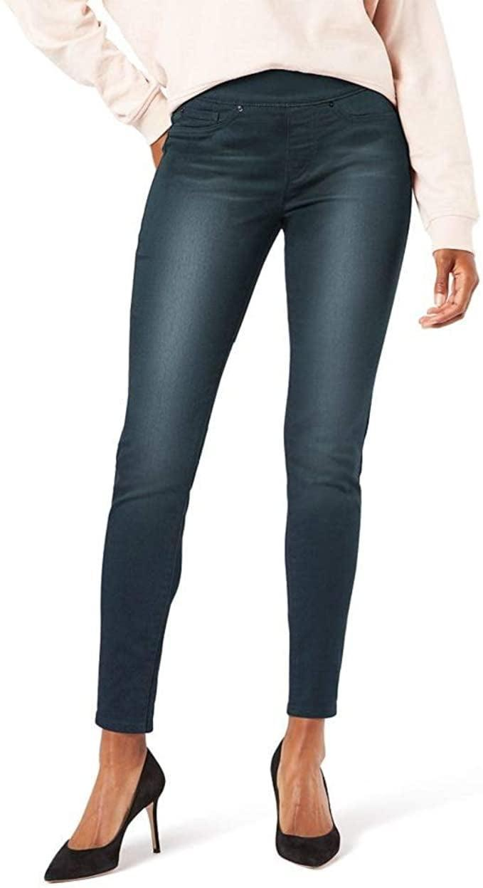 <p>A good pair of jeans will always pull everything together, and these <span>Signature by Levi Strauss &amp; Co. Gold Label Women's Totally Shaping Pull-On Skinny Jeans</span> ($25) are perfection.</p>