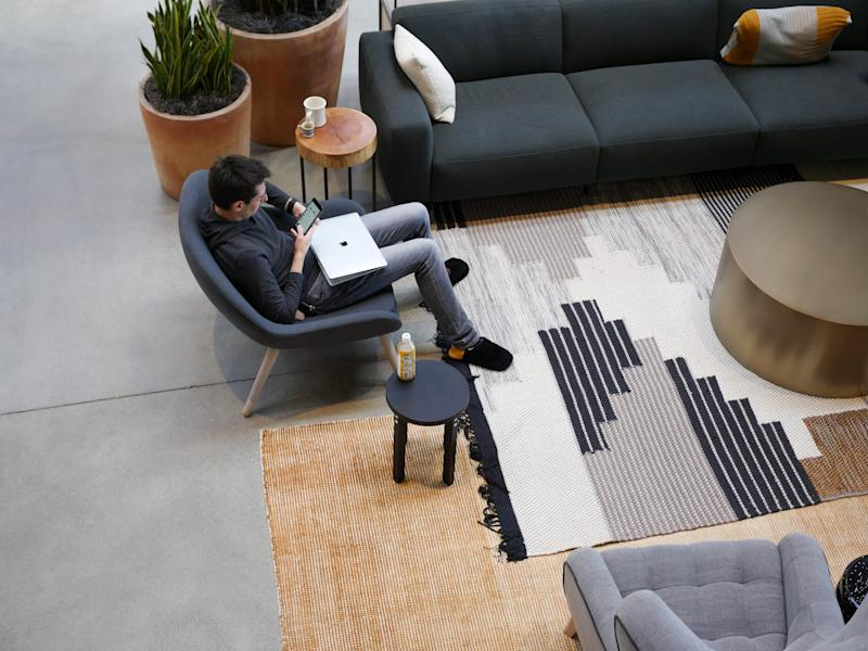 gusto software hr startup shoeless office hq san francisco 24