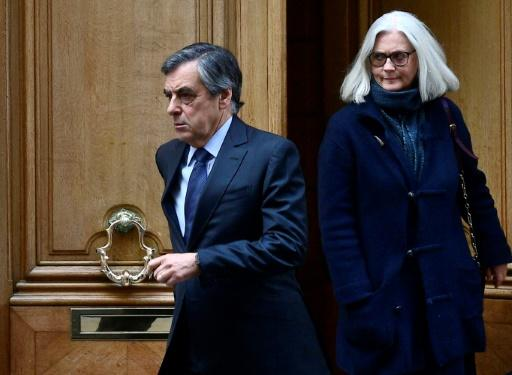 Francois Fillon and his wife Penelope risk a maximum of 10 years in prison if convicted