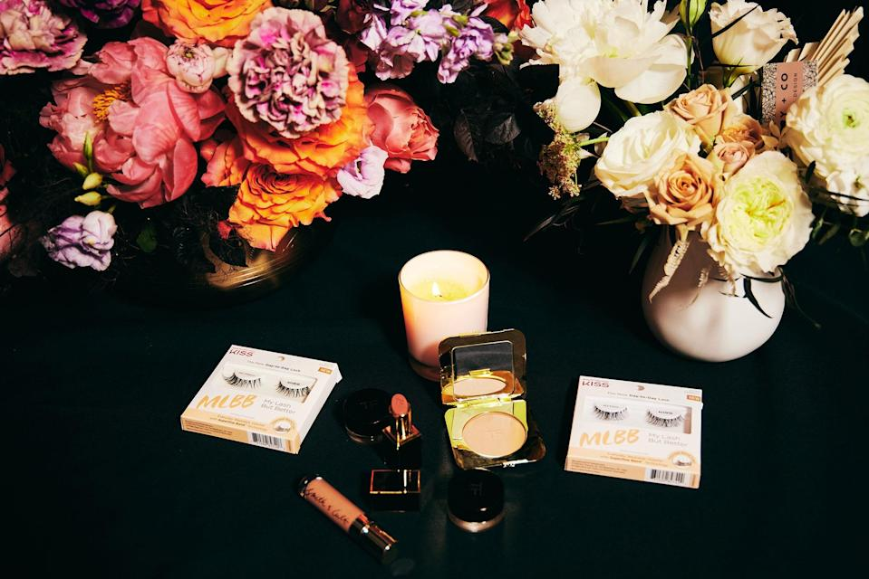 The Tom Ford and Smith & Cult products used by makeup artist Tarryn Feldman.
