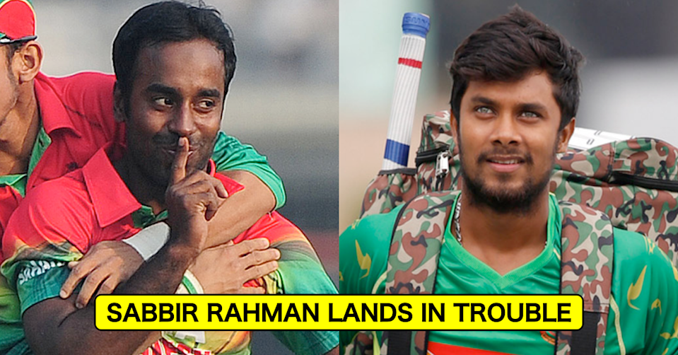 Sabbir Rahman Lands In Trouble; Complaint Filed For Throwing Stone And Racially Abusing Elias Sunny During DPL 2021
