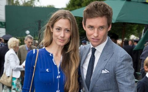 Eddie Redmayne with his wife Hannah Bagshawe - Credit: Heathcliff O'Malley