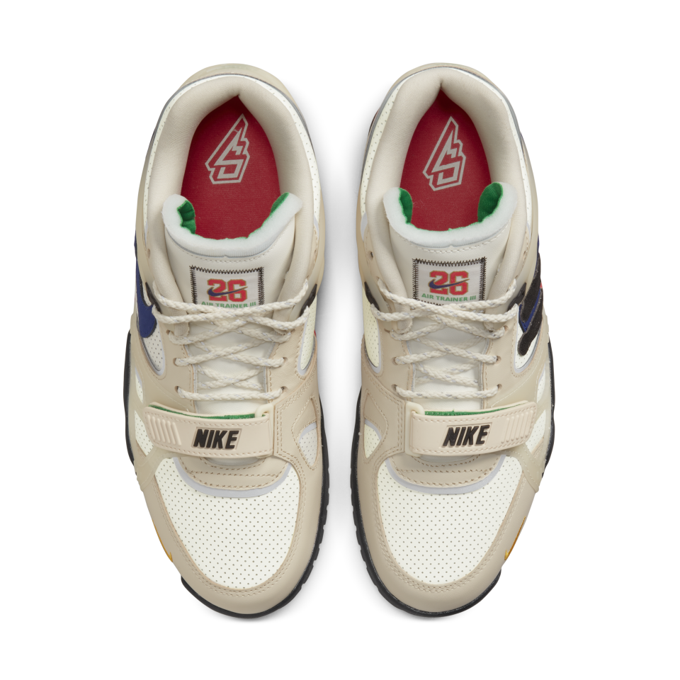 A top-down view of the Nike Saquon Air Trainer 3. - Credit: Courtesy of Nike