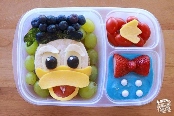 PHOTO: Beau Coffron creates beautiful dishes for his kids' lunchboxes and shares his ideas for parents ahead of the new school year. (Beau Coffron/Lunchbox Dad)