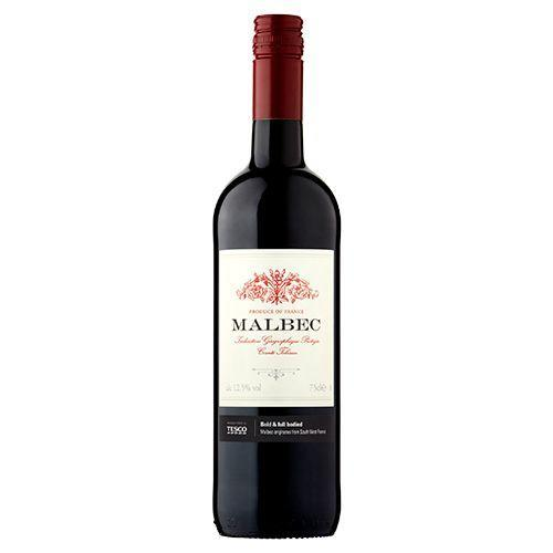 """<p>Originating from South West France, this Malbec is described as """"rich and fruity,"""" with flavours of blackberry jam and black cherries. </p><p><a class=""""link rapid-noclick-resp"""" href=""""https://go.redirectingat.com?id=127X1599956&url=https%3A%2F%2Fwww.tesco.com%2Fgroceries%2Fen-GB%2Fproducts%2F292541644&sref=https%3A%2F%2Fwww.delish.com%2Fuk%2Fcocktails-drinks%2Fg36093038%2Ftesco-wine%2F"""" rel=""""nofollow noopener"""" target=""""_blank"""" data-ylk=""""slk:BUY NOW"""">BUY NOW</a></p>"""