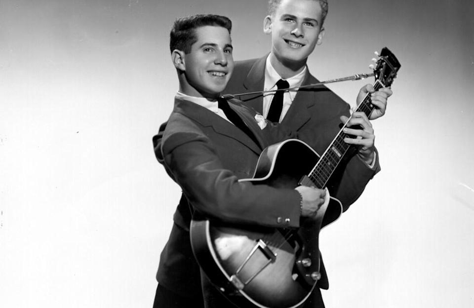 The pair released their first single 'Hey, Schoolgirl' in 1957 under the name Tom & Jerry. After their debut album 'Wednesday Morning, 3AM' disappointed, the duo enjoyed mainstream success following their second effort 'Sounds of Silence' and would go on to become one of the best-selling groups of the 1960s with hits including 'Mrs. Robinson' and 'The Boxer'.