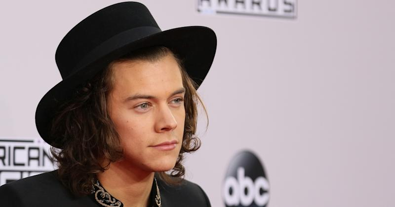 Harry Styles attends the 2014 American Music Awards at Nokia Theatre L.A. Live (Copyright: Getty/JB Lacroix)