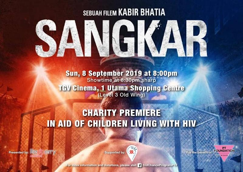 'Sangkar' managed to help raise funds for PT Foundation's 2nd Chance Programme. — Picture courtesy of Tina Fazlita