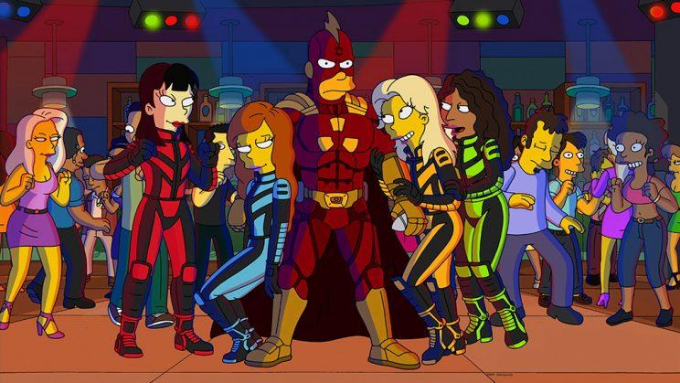 Radioactive Man in 'The Simpsons'