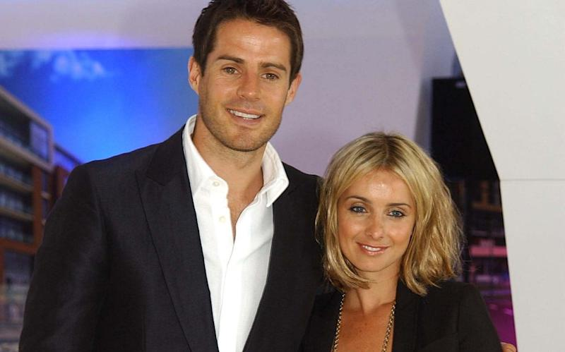 Jamie Redknapp and wife Louise Redknapp - Getty