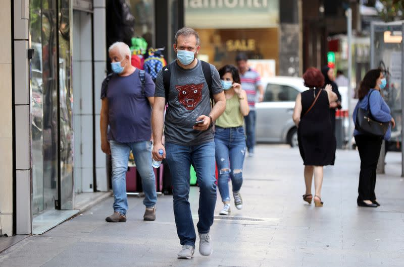 Lebanon registers record number of daily COVID-19 cases