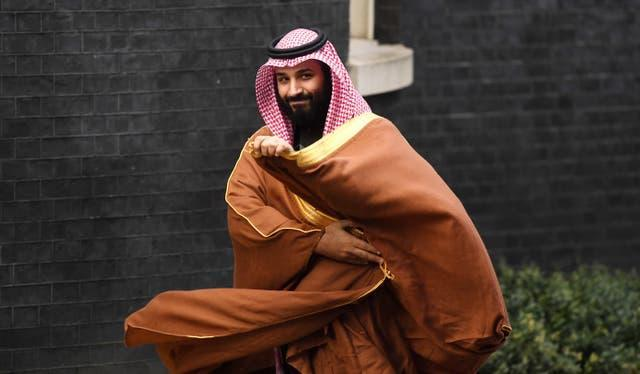 Saudi Crown Prince Mohammad Bin Salman is the chair of the Saudi-based Public Investment Fund