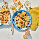 <p>Here, we put all the components of a classic shrimp boil into foil packets for cute, individually portioned meals. Be sure to choose extra-large, shell-on shrimp, which stay plump and juicy during the 15 to 20 minutes on the grill.</p>