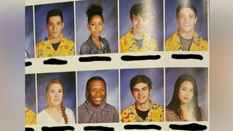 Teen Convinces Nearly 60 Students to Wear Same Hawaiian Shirt in Yearbook Photo