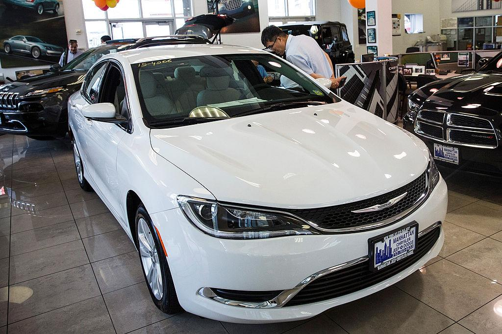 <p>No. 5 least reliable car: Chrysler 200 <br /> Price as tested: $25,790 to $33,620 <br /> (Photo by Andrew Burton/Getty Images) </p>