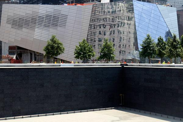 Click for more images of the 9/11 Memorial at Ground Zero