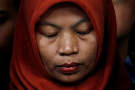 Indonesian woman jailed for reporting harassment to seek amnesty