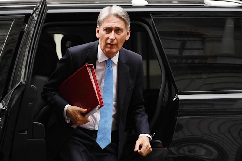 The Chancellor will make the pledge during his annual Mansion House speech (file image) (EPA)