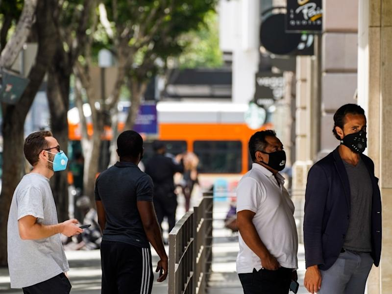 An estimated 1 of every 140 people in Los Angeles is infectious. Health officials paint of grim picture for the upcoming weeks.