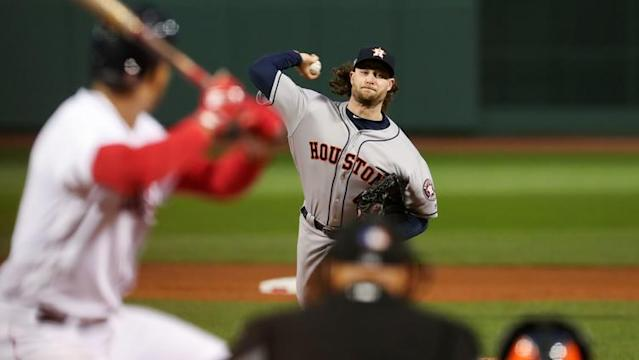 The Red Sox & Astros have matched up in the postseason in each of the last two years - and even though the Sox are out of playoff position now, Houston All-Star pitcher Gerrit Cole isn't dismissing their chances.