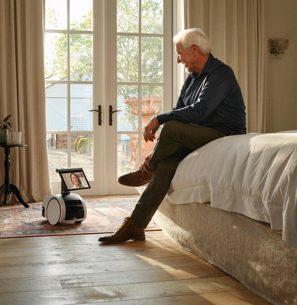 Astro is an autonomous robot that can follow a user around the home. (Amazon)