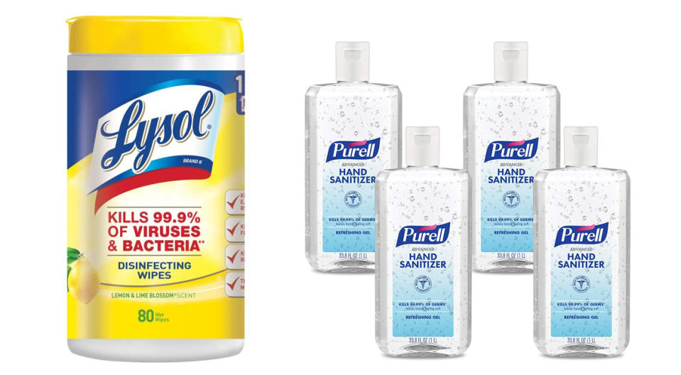 Prime Day Lyol and Purell