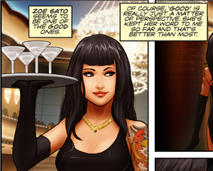 Mafia Wars 2 comic
